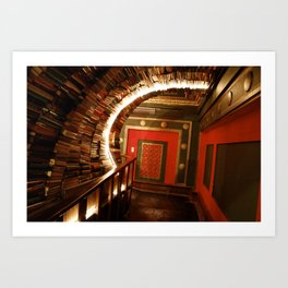 The Last Bookstore Art Print
