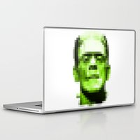 frank Laptop & iPad Skins featuring Frank by Portia Alice