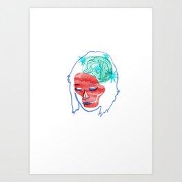 Italien girl Art Print