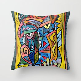Picture me Throw Pillow