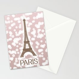 Paris: City of Light, Eiffel Tower Stationery Cards