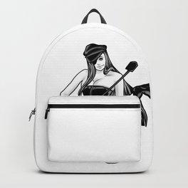 Mistress Dominatrix Godess BDSM Bondage Whip Gift Backpack