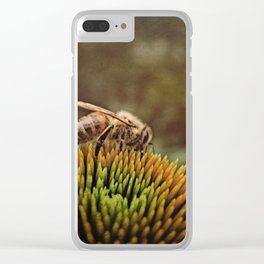 'of clovers and of noon' Clear iPhone Case