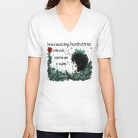 le petit prince V-neck T-shirts featuring Le Petit Prince by Cindys