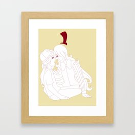 BillDip Framed Art Print
