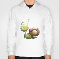 snail Hoodies featuring Snail by ArtPavo