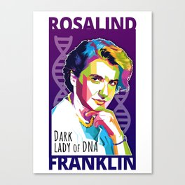 Rosalind Franklin Canvas Print