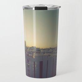 Sunrise on Dubai Skyline Travel Mug