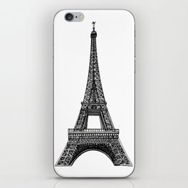Paris Eiffel Tower iPhone Skin