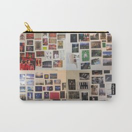 Postcard Wall Spaced Carry-All Pouch