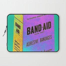 Band Aid Print Laptop Sleeve