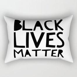Black Lives Matter 2 Rectangular Pillow