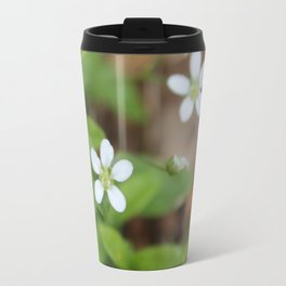 4 Tiny Wildflowers Travel Mug