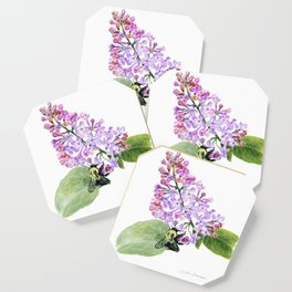 Lilac Love by Teresa Thompson Coaster