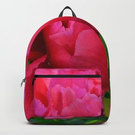 Dark Pink Tree Peony by Teresa Thompson Backpack