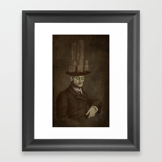The Architect Framed Art Print