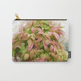 Leaves and Dew Carry-All Pouch