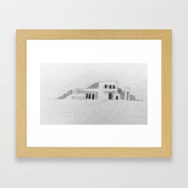 Pueblo no.1 Framed Art Print