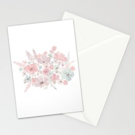 Pastel Bouquet Stationery Cards