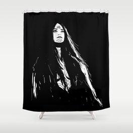 Morrigan - Hound 1 Shower Curtain