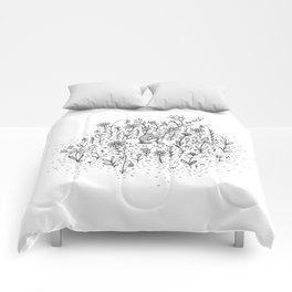 Garden Girl Comforters