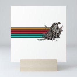 Skeksis Banner Strips Mini Art Print