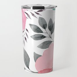 FLOWERS WATERCOLOR 14 Travel Mug
