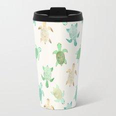 Gilded Jade & Mint Turtles Travel Mug