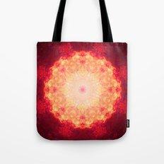 Fire Galaxy Tote Bag