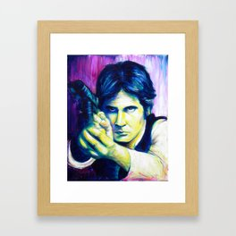 It's a Trap! Part 2: Han Solo Framed Art Print