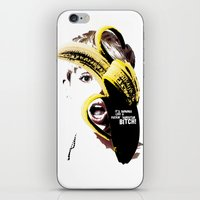 miley cyrus iPhone & iPod Skins featuring Miley Cyrus  by franziskooo