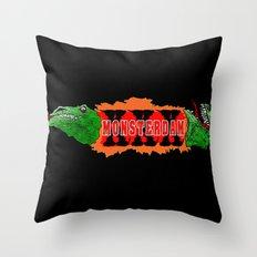 MONSTERDAM Throw Pillow