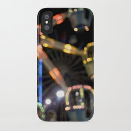 Seaside Boardwalk Lights iPhone Case
