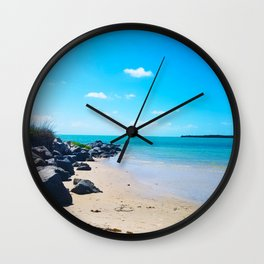 Seashore Serenity Wall Clock