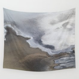 Death Valley Salt Flats Wall Tapestry