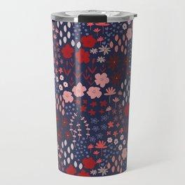 Ditsy Floral Travel Mug