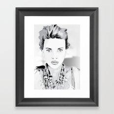 Scarlett-Johansson Framed Art Print