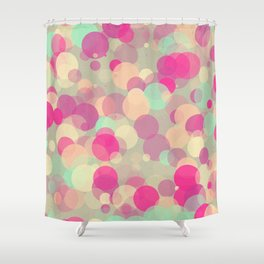 Colorful Bubbles 2 Shower Curtain