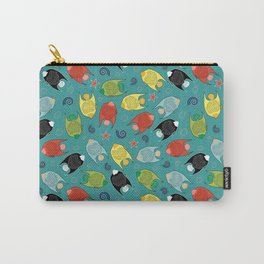 ALOHA Fishes Carry-All Pouch