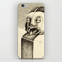 fall iPhone & iPod Skins featuring 'Fall' by Alex G Griffiths
