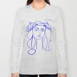 Picasso's Muse Long Sleeve T-shirt