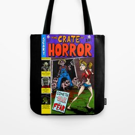 The Crate of Horror Tote Bag