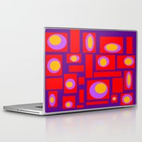 percy jackson Laptop & iPad Skins featuring Mod Pattern Percy by Crash Pad Designs