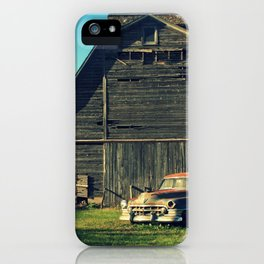 Caddie and Barn iPhone Case