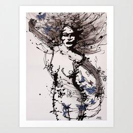 Dala Art Print