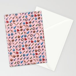 A Hero's Arsenal (Pink) Stationery Cards