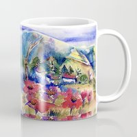 africa Mugs featuring Africa by CrismanArt