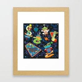 Cosmic Voyage Framed Art Print