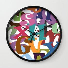 Joy of Life Wall Clock