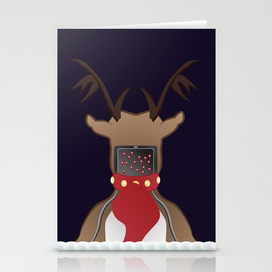 Christmas Card - I Can't Find Britain! Stationery Cards